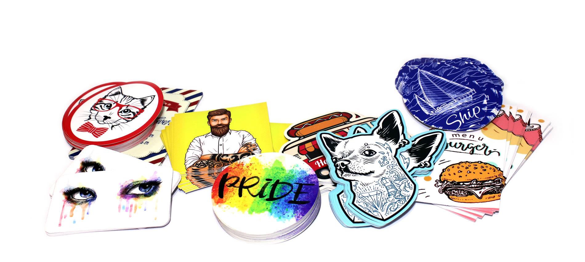 Custom Printed Stickers, Wholesale Custom Stickers, Low Price Custom  Stickers, Cheap rates Custom